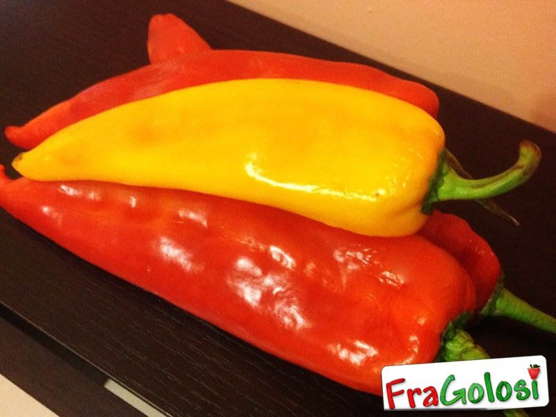 Come cucinare il peperone in tempi brevi al microonde ricetta di fragolosi - Cucinare i peperoni ...