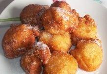 Frittelle dolci di pasta lievitata