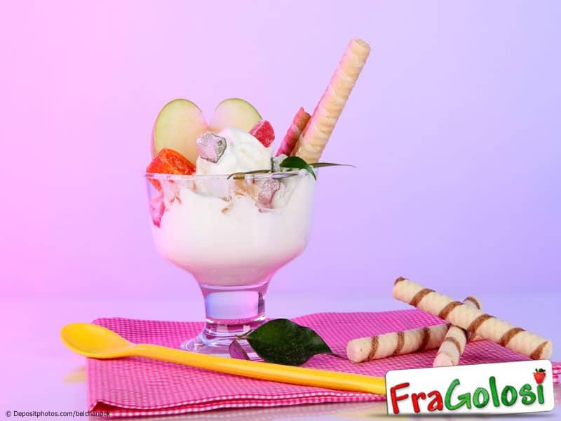 Gelato alla frutta candita