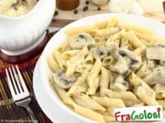 Pasta con Crema di Funghi