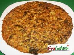 Frittata di Broccoli, Acciughe e Pancetta