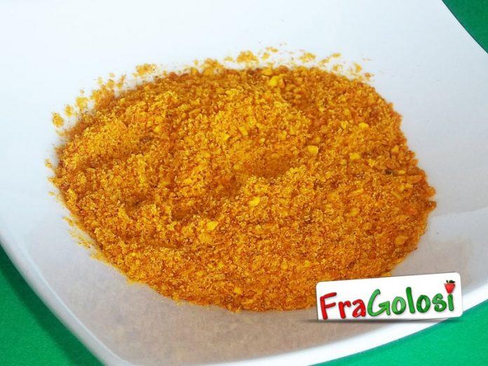 Polvere di bucce di arance
