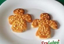 Biscotti a forma di angelo