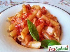 Pasta con Pomodorini e Pancetta