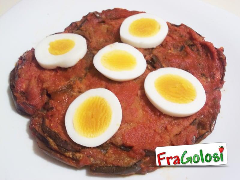 Parmigiana con uova sode