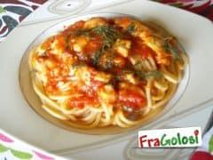 Spaghetti con Ragù di Spatola e Finocchietto