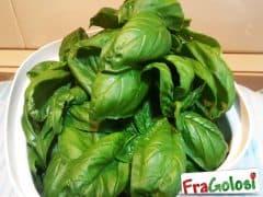 Per conservare a lungo l'aroma del basilico