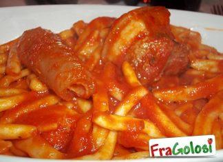 Pasta fresca con carni miste di maiale
