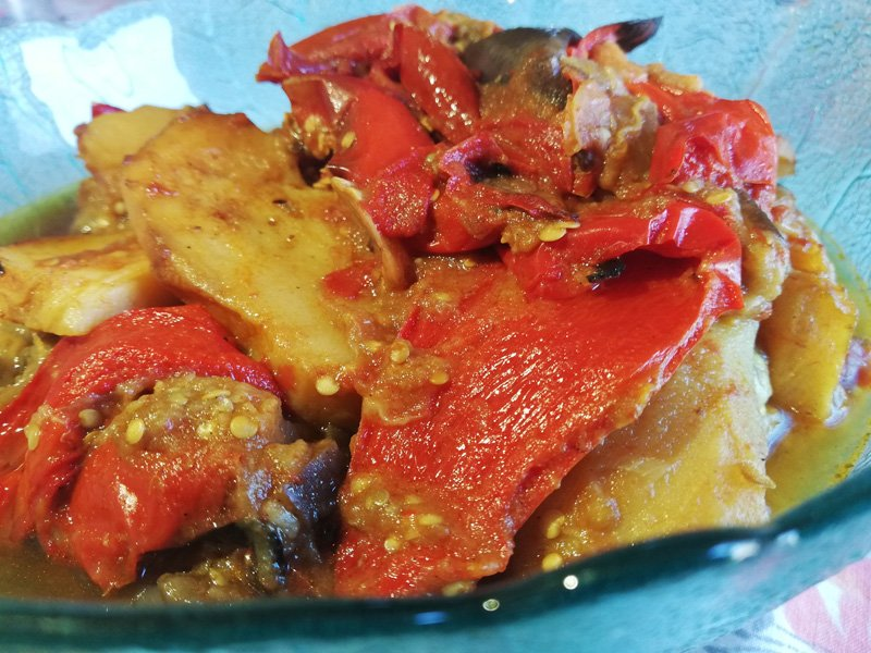 Peperonata alla siciliana