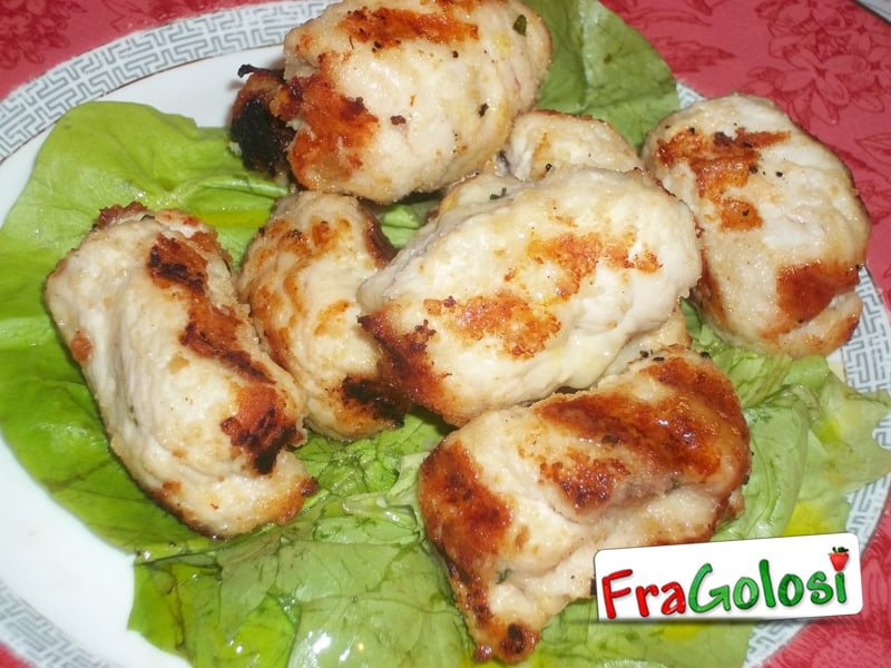 Involtini di pollo alla siciliana