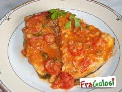 Pesce Spada in Padella con Pomodorini