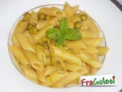 Pasta (risottata) con Piselli Freschi