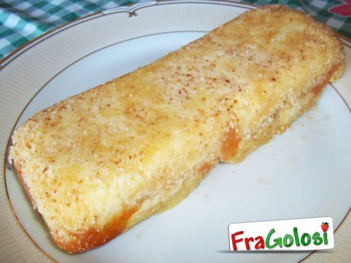 Plum cake di besciamella, mozzarella e patate