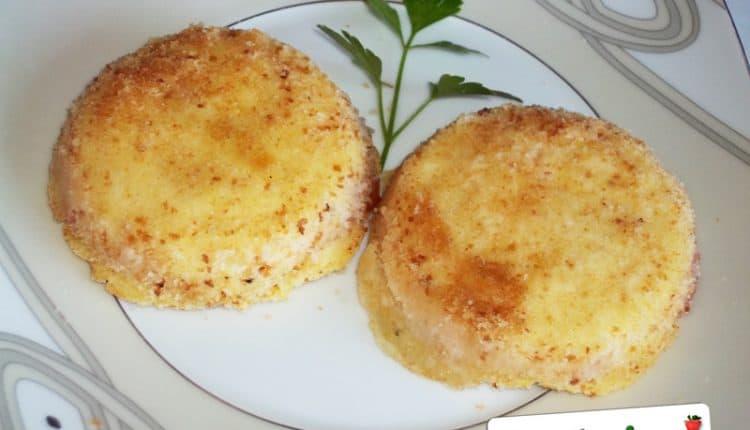 Sformatini di patate, pancetta e feta
