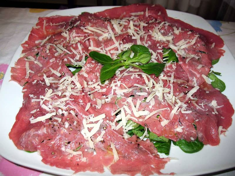 Carpaccio di vitello