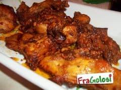 Coniglio in Salsa Agrodolce alla Siciliana