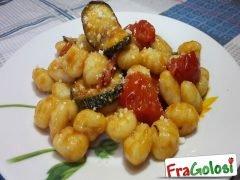 Gnocchi con Zucchine e Pomodorini