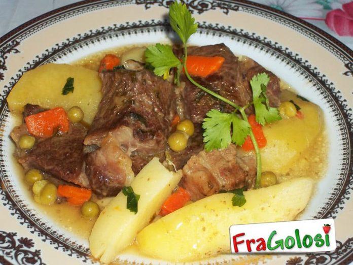 Spezzatino di carne con verdure