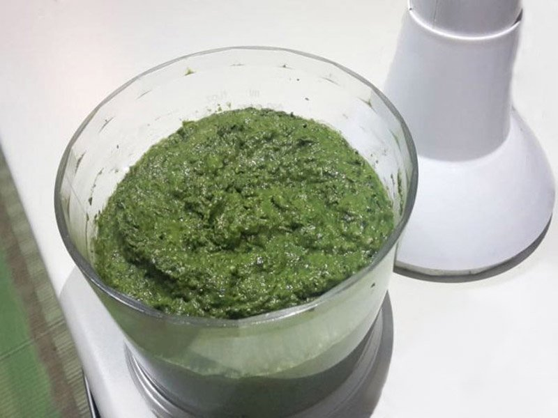 Pesto alla Genovese Metodo veloce col Frullatore