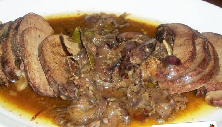 Fegato di maiale al forno