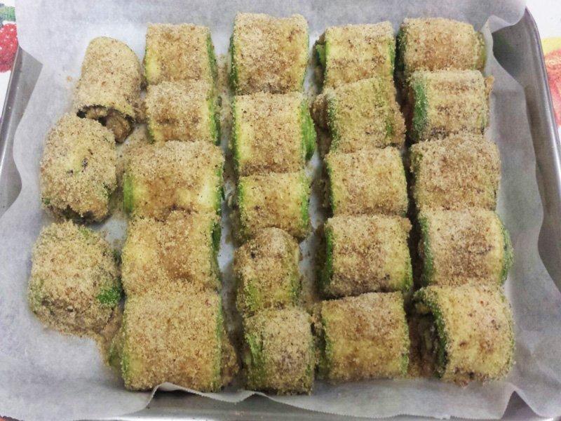 Involtini di Zucchine Fumè