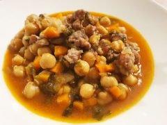 Zuppa di Ceci alla Campagnola