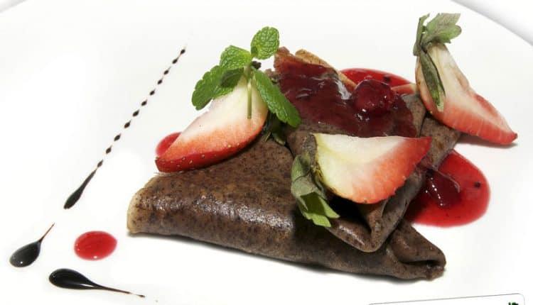 Impasto per crepes al cacao