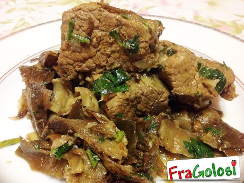 Spezzatino con carciofi ricetta di for Ricette con carciofi