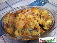 Mix di Zucchine Melanzane Pomodori e Peperoni al Forno