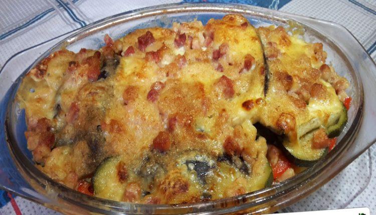 Mix di Zucchine, Melanzane, Pomodori e Peperoni al Forno