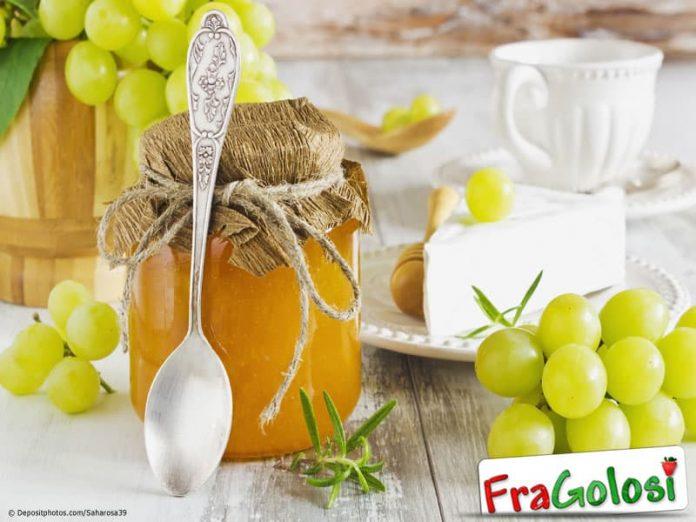Confettura di uva bianca