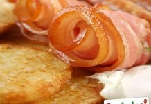 Frittelle di patate pancetta e cipolle