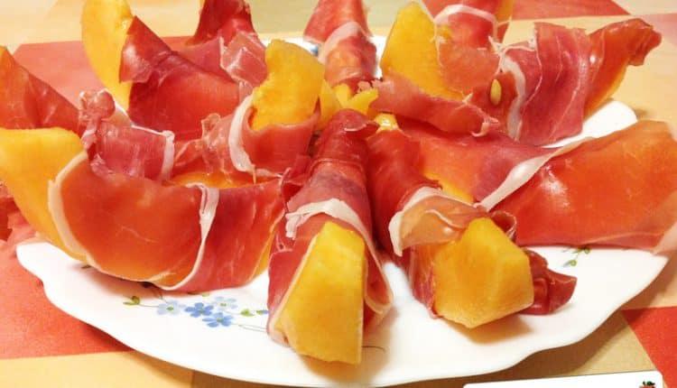 Melone e prosciutto crudo