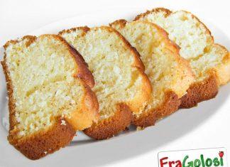 Plum cake senza uova e senza burro