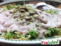 Gamberetti in Salsa Rosa con Granella di Pistacchi