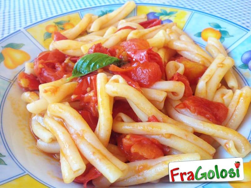Pasta con pomodorini Pachino