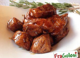 Straccetti di pollo in agrodolce