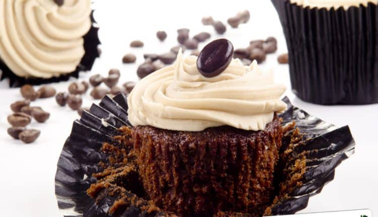 Topping al caffè per cupcakes