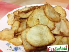 Zucchine Spinose (o Chayote) Fritte
