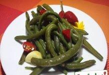 Fagiolini all'aglio e al Peperoncino