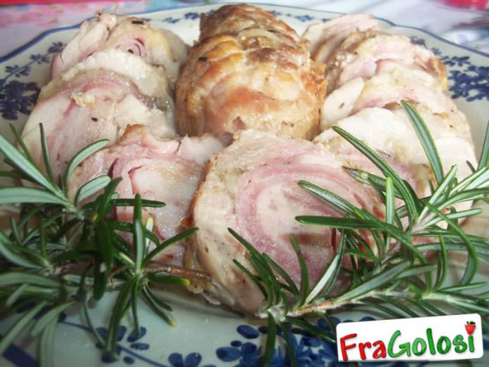 Rollè di pollo con prosciutto e groviera