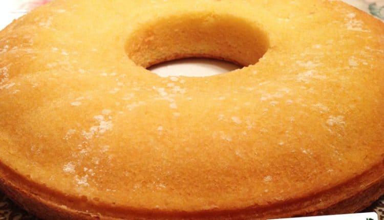 Torta Margherita a forma di ciambella
