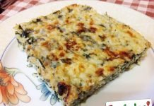 Risotto con gli spinaci al forno