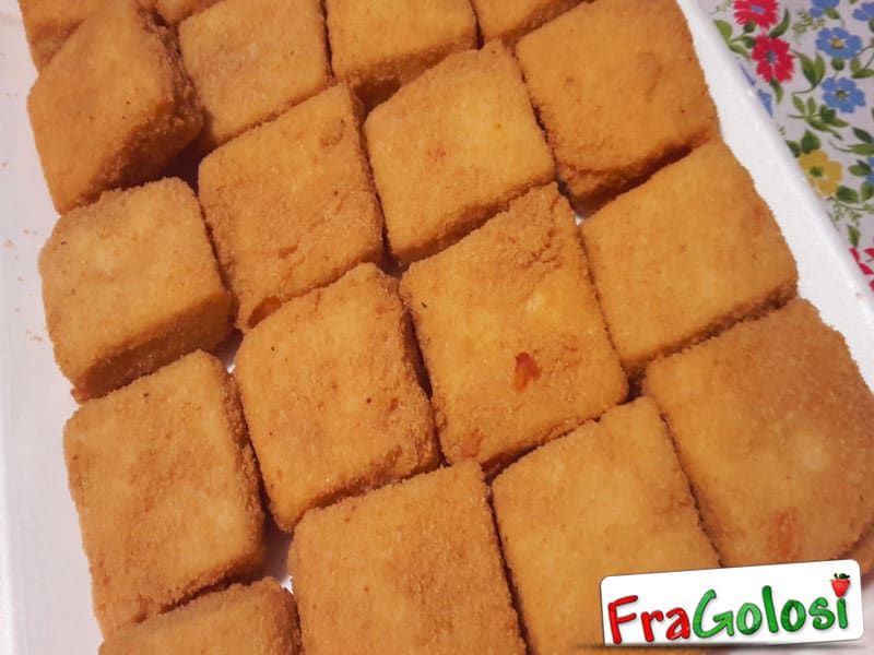Mozzarelle in carrozza alla Messinese