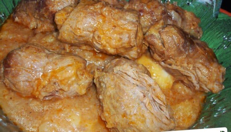 Involtini di carne con patate in tegame