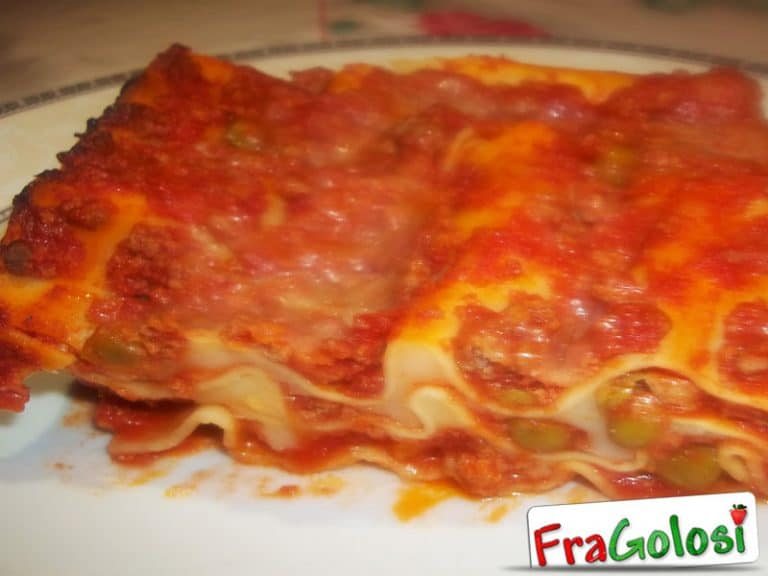 Lasagne al forno con ragù e ricotta