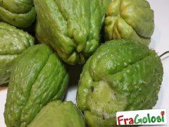 Come congelare la zucchina spinosa (Chayote)
