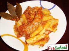 Pasta con Ragù e Salsiccia Bimby