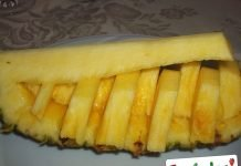 Ananas a Barchetta