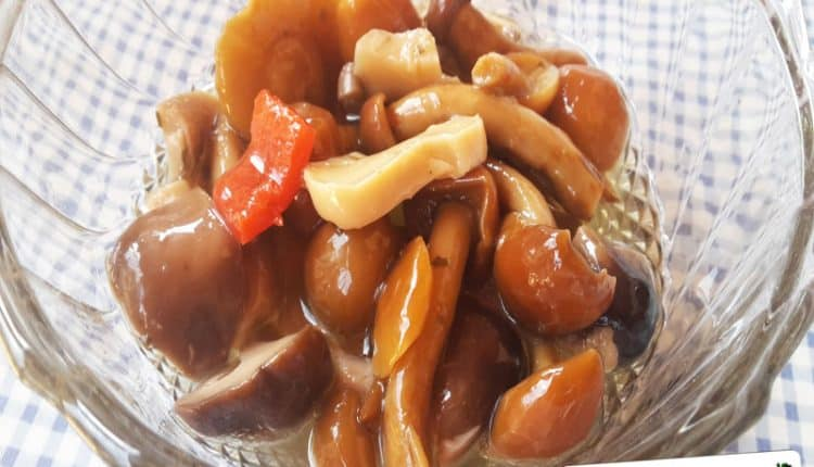 Funghi sott'olio alla Calabrese
